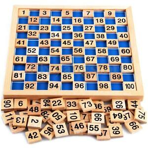 Montessori-Mathematics-Material-Child-Learning-Wooden-Educational-Number-1to100