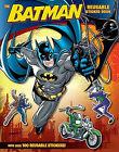 The Batman Reusable Sticker Book by John Sazaklis (Paperback / softback)