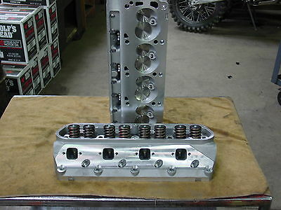 Complete Aluminum Cylinder Heads SBF fits Ford GT40 289 302 351W 190cc 62cc