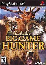 NEW Sealed Cabela's Big Game Hunter 2007 - PS2 Black Label