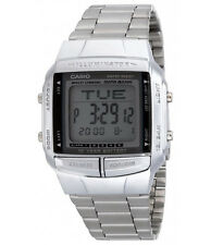 Casio Men's Illuminator Digital Databank Stainless Steel Watch DB360-1A