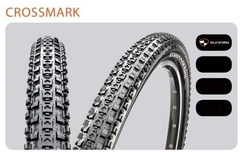NEW  MAXXIS CROSSMARK Tire Mountain Bike MTB Tire Cross Mark 26 x 1.95 foldable  with cheap price to get top brand