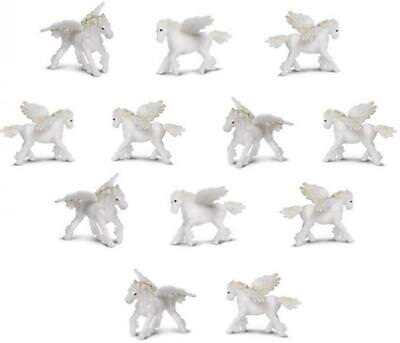 Doll House Shoppe Toy Dinosaur Set of 8 Different Micro-mini Game Pcs Miniature