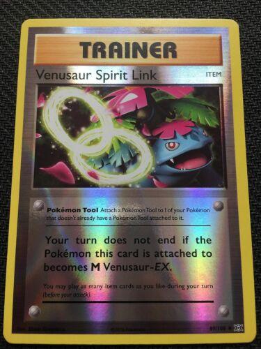 Pokemon XY EVOLUTIONS VENUSAUR SPIRIT LINK 89//108 REVERSE