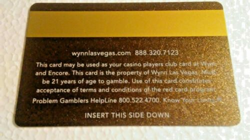 Players Card--{type-3} Details about  /WYNN  Las Vegas Hotel /& Casino