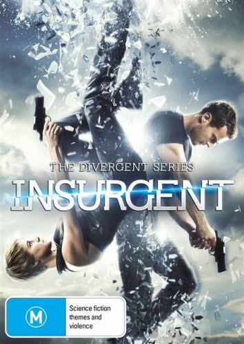 1 of 1 - The Divergent Series - Insurgent (DVD, 2015) NEW R4