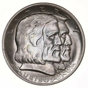 Raw-1936-Long-Island-50C-Uncertified-Ungraded-US-Silver-Half-Dollar-Commem