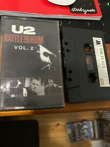 U2-RATTLE-AND-HUM-VOL-2-Michael-1315-Cassette-Tape