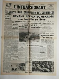 N232-La-Une-Du-Journal-l-039-intransigeant-4-octobre-1935-guerre-Italo-ethiopienne