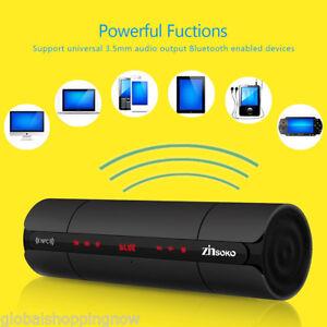 Sans Fil Bluetooth Haut-parleur Stéréo Enceinte NFC FM Rechargeable LCD AUX USB