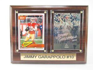 Jimmy-Garoppolo-San-Francisco-49-ers-Holz-Wandbild-20-cm-Plaque-NFL-Football