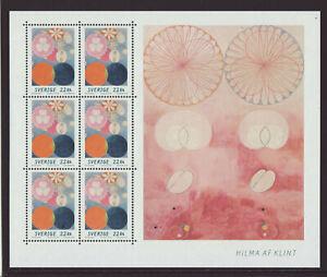 Sweden 2020 Mnh Hilma Af Klint Art M Sheet Ebay