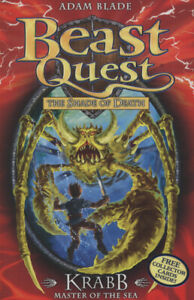 Beast-quest-Krabb-master-of-the-sea-by-Adam-Blade-Paperback-Amazing-Value
