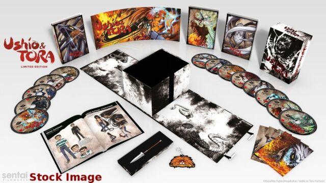 Ushio & Tora Limited Edition (Blu-ray/DVD, 2017, Premium box set) anime
