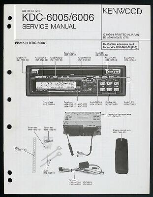 [SCHEMATICS_4CA]  Kenwood KDC-6005/6006 Original Car Audio CD Receiver Service Manual/Diagram    eBay   Kenwood Kdc Mp332 Wiring Diagram      eBay