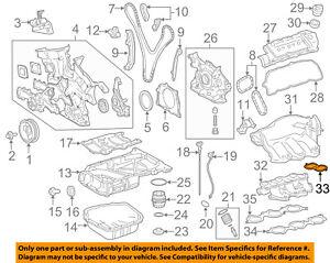 image is loading toyota-oem-intake-manifold-plenum-gasket-171760p021
