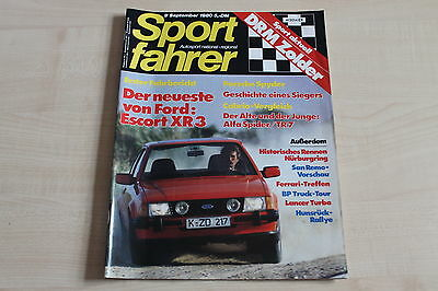 Hell 164369 Ford Escort Xr3 Mitsubishi Lancer Turbo Sport Fahrer 09/1980 Elegante Form