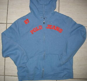 Pl Blue Lauren Front Zipper Details Ralph About Polo Hoodie Jacket 2EDWH9IY