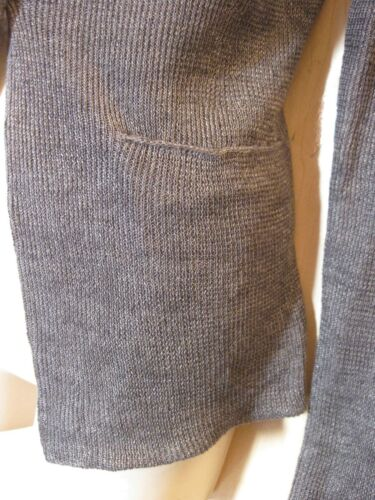Details about  /BNWT $298.00 Eileen Fisher Double Layer Linen Delave DAPPLE Gray Knit Jacket M S