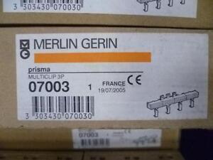 MERLIN GERIN PRISMA MULTICLIP 3 Phase 07003 BUSBAR 180A DISTRIBUTION BLOCK 415V
