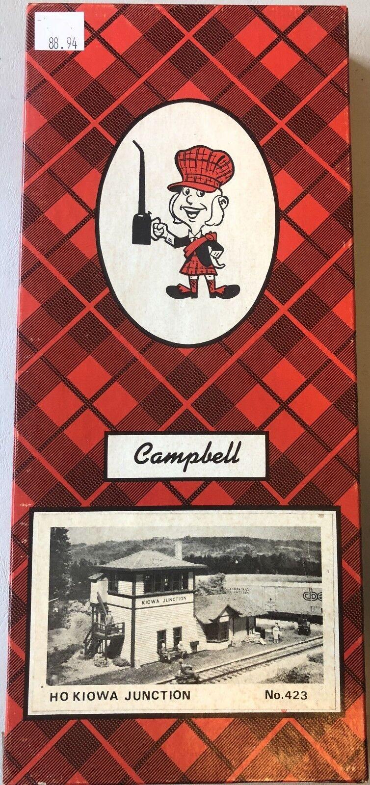 Campbell  423  Kiowa Junction  HO scale Craftsman Kit