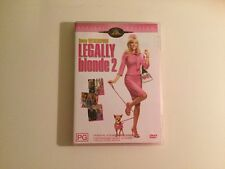 Legally Blonde 02 - Red, White And Blonde (DVD, 2004) plus FREE single I CAN