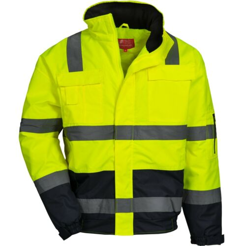 NITRAS 7143 MOTION TEX VIZ Warnschutz-Pilotenjacke Arbeitsjacke Jacke
