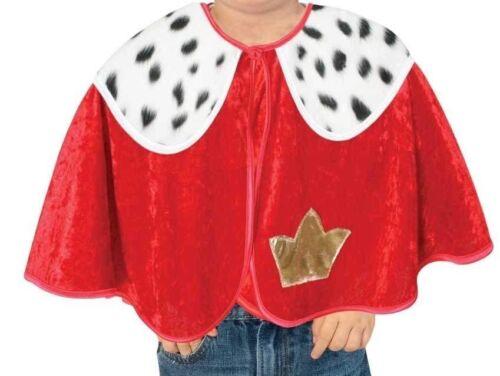 Cape König 86 92 Kostüm King Umhang Krippenspiel Prinzenpaar Karneval 12192413