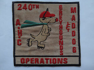 240th Assaut Hélicoptère Co Greyhounds & Mad Chien Opérations - Guerre Du yARSq0ZF-09114324-247095473