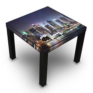 Tisch New York Dekorativ 45cm Hoch Bild Motiv Holz Couchtisch Motiv