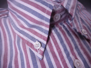 Brooks-Brothers-Oxford-Shirt-Button-Down-Milano-Extra-Slim-NWT-140-USA-Supima
