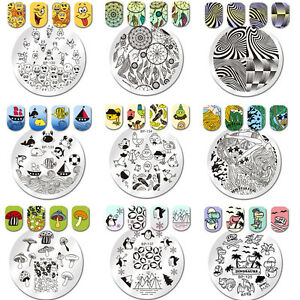 Details about BORN PRETTY Nail Art Stamp Template Image Plate Penguin  Chicken Emoji DIY Decor