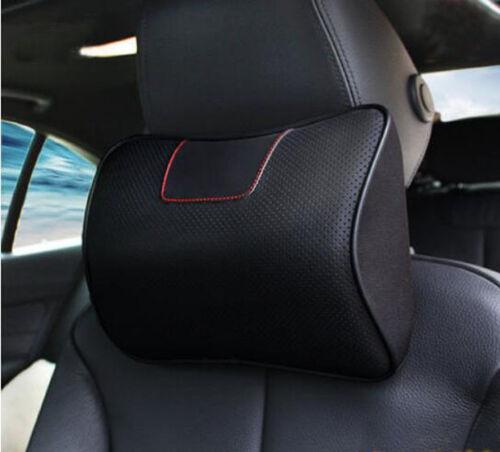 For Ford Explorer 2011-2017 Ergonomic Genuine Leather Auto Headrest Pillows