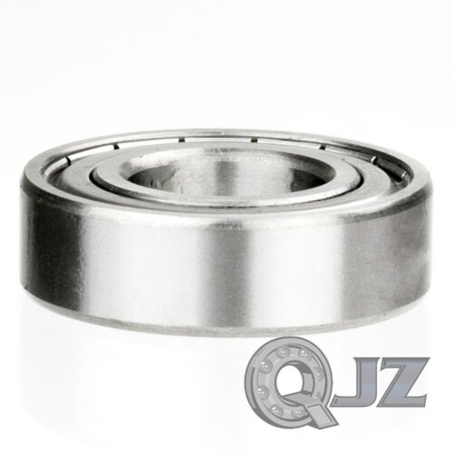 1x 6211-ZZ Ball Bearing 55mm x 100mm x 21mm Double Shielded Seal NEW QJZ Metal