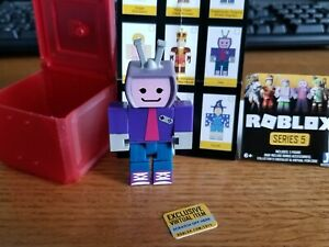 Roblox Character Toy Codes Roblox Series 5 Vee Red Blind Box Toy Figure With Exclusive Game Code 191726015192 Ebay
