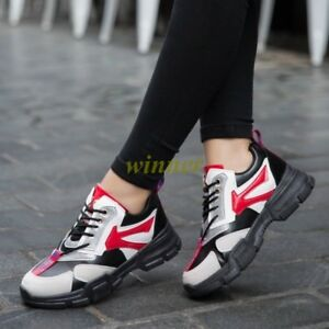 Fashion-Women-039-s-Running-Casual-Sport-Athletic-Breathable-Outdoor-Trainer-Sneaker