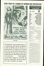 out of The Past (1947) - Robert Mitchum Kirk Douglas Jane Greer DVD