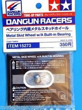 Tamiya Dangun Racers Metal Skid Wheel With Built-in Bearing 15273 modellismo