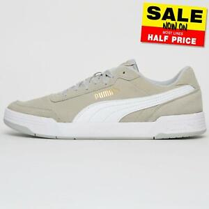 Puma-Caracal-SD-Mens-Classic-Suede-Leather-Retro-Fashion-Trainers