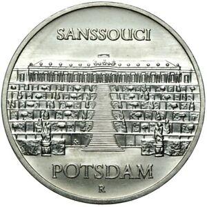 Gedenkmuenze-DDR-5-Mark-1986-A-Sanssouci-Potsdam-Stempelglanz-UNC