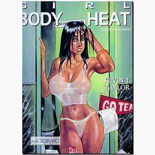 Girl Body Heat Erotik Comicband KEVIN J TAYLOR Ewachsene PULP Thiller SicFi