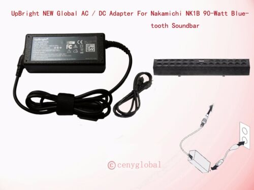 18V AC Adapter For Nakamichi NK1B Bluetooth Soundbar Home Theatre System Charger