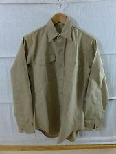 #HE10 USMC US Marine Corps Service khaki tropical Shirt Diensthemd Viet Nam