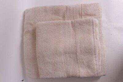 set//2 NWT Pottery Barn Marlo Jacquard bath towels coral *4 total available* tile