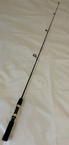 """Eagle Claw MACH-ULS MUS46 4'6"""" 2-6Lb Graphite Ultra Light Spinning Fishing Rod"""