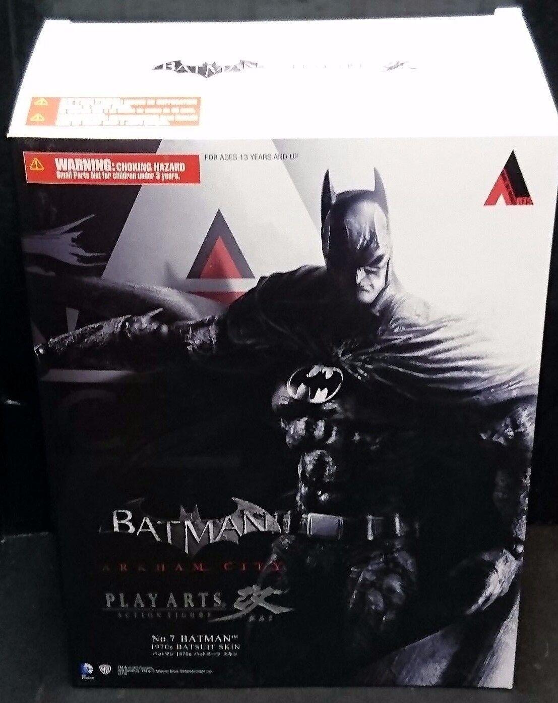 online barato Jugar Arts Kai Batman Figura Arkham City 9 9 9  23cm  nuevo  No.7 década de 1970 armado de la piel  estilo clásico