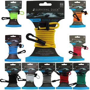 Kayak-Canoe-Paddle-Leash-Clip-Fishing-Rod-Tether-Holder-Whistle-Model-Available