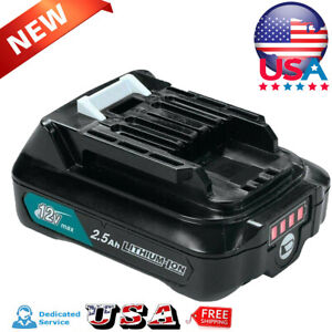 NEW-Battery-For-Makita-12V-MAX-CXT-Lithium-BL1021B-BL1020B-BL1041B-BL1016-2-5Ah