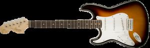 Fender Squier Affinity Strat LEFTY Brown Sunburst Stratocaster Electric Guitar
