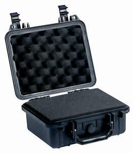 Bien éDuqué Mallette Etanche + Mousses Flight Case Transport Securite 268x245x125mm Suppression De L'Obstruction